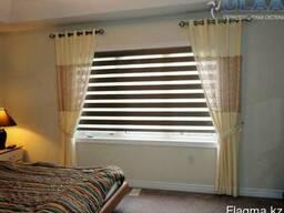 Ролл-шторы день-ночь, жалюзи, римские шторы, москитные сетки