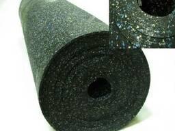 Рулонное резиновое покрытие 1500*6000*10мм