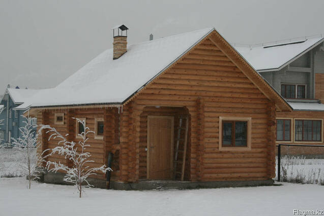 Русская баня из бревна, Срубы, Сауны, финская баня