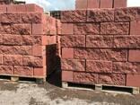 Рваный камень (Декор пескоблок) - фото 1