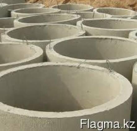 Септик из бетонных канализационных колец диаметром 1 метр