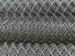 Сетка рабица Черная, оцинкованная, с полимерным покрытием