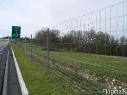 Сетка сварная для ограждения автодорог и лесных хозяйств