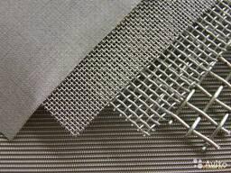 Сетка тканая стальная фильтровальная