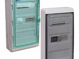 Щиты управления вентиляционные с водяным калорифером.
