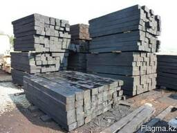 Шпала пропитанная деревянная