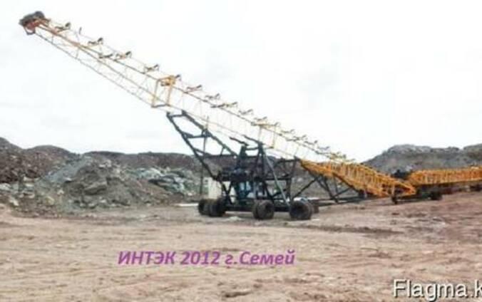 Штабелеукладчик(укладчик руды радиальный)