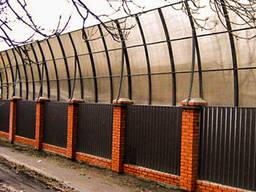 Шумозащитные экраны на забор