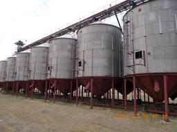 Силоса для хранения зерна Петкус К-850, вместимостью 150тн.