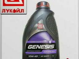 Синтетическое моторное масло лукойл genesis armortech 5w40 4