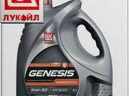 Синтетическое моторное масло лукойл genesis armortech a5b5 5