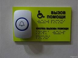 Система вызова (кнопка) персонала для инвалидов