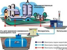 Системы авто-го газоснабжения большой мощности 2500-3700 кВт