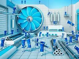 Системы кондиционирования и вентиляции воздуха