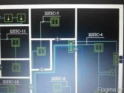 Схема проект пожарная охранная сигнализации видеонаблюдение