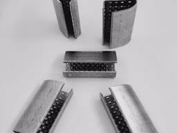 Скоба металлическая для PET ленты 16 мм. PET 16/1мм