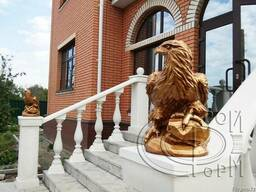 Скульптуры ЛЕВ и ОРЕЛ малый - фото 3