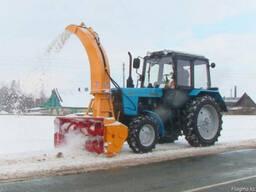 Снегоочиститель фрезерно-роторный передний на МТЗ