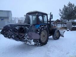 Снегоочиститель фрезерно-роторный задний на МТЗ-320, Т-25