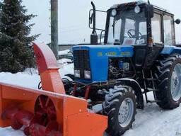 Снегоочиститель шнекороторный механический передний