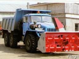 Снегоочиститель СШР-2, 6Г передняя навеска на Урал 55571-40,