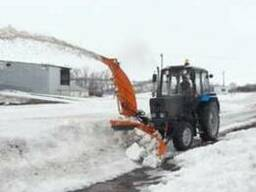 Снегоуборщик Су 2.1 ОМ на МТЗ-82