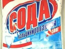 Сода кальцинированная 500 гр. (мешок 25 кг. )