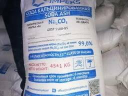 Сода кальцинированная марки Б, 110 тг/кг