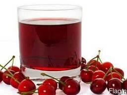 Соковый концентрат 65% вишня осветленный