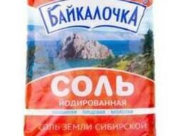 """Соль йодированная """"Байкалочка"""""""