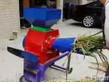 Соломорезка для кукурузи сельское машина - фото 2
