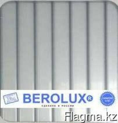 Сотовый поликарбонат Berolux 10 мм (2,1 х 6) прозрачный