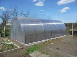 Сотовый поликарбонат для теплицы и зимнего сада