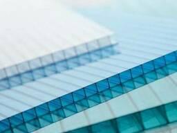 Сотовый поликарбонат Skyglass, толщина 10мм. лист: 2, 1*12 м