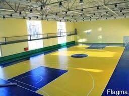 Спортивное напольное покрытие от GRABO, Tarkett, LG Hausys - фото 2