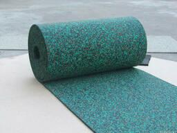 Спортивное рулонное резиновое покрытие