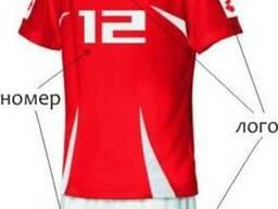 Спортивные формы(нанесение номеров, логотипов, фамилий )