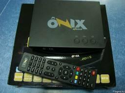 Спутниковый ресивер, azgold onix, dvb-s2, mpeg-4, wifi