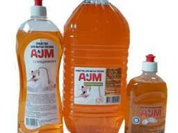 Средство для мытья посуды «АJМ» с глицерином