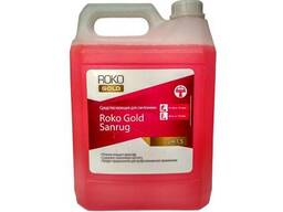 Средство для мытья сантехники Roko Gold Sanrug - 5л