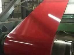 Сталь тонколистовая с полимерныи покрытием