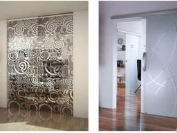 Стеклянные двери - фото 2