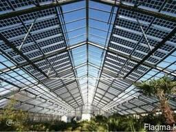 Стеклянные солнечные панели Neosun