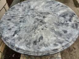 Стол для сада из Екам-бетона