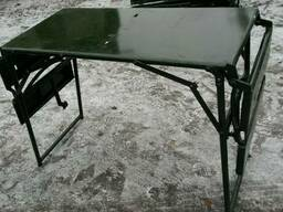 Стол раскладной железный