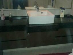 Столешницы каменные для ванных комнат на заказ