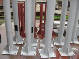 Стойки и колонны металлические (стальные) любой конфигурации