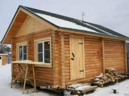 Строительства деревянных домов, срубов, бань и дач из клеено - фото 4