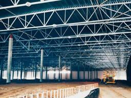 Строительство Ангаров, цехов, склады, базы, хранилищ, СТО