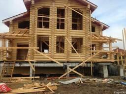 Строительство деревянных домов из сруба и ОЦБ